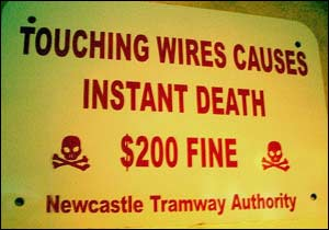 Instant Death Sign